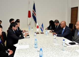 Japan-Cabo Verde Foreign Ministers' Meeting2