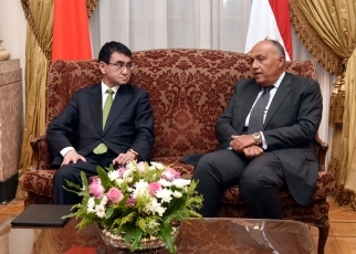 Japan-Egypt Foreign Ministers' Meeting1