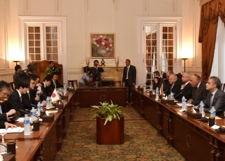 Japan-Egypt Foreign Ministers' Meeting2