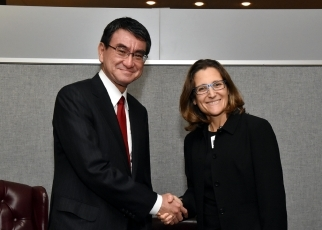 Japan-Canada Foreign Ministers' Meeting1