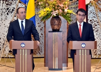 photo2: Japan-Bosnia and Herzegovina Foreign Ministers' Meeting