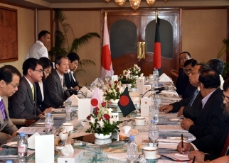 Japan-Bangladesh Foreign Ministers' Meeting 2