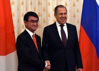 Japan-Russia Foreign Ministers' Meeting(1)