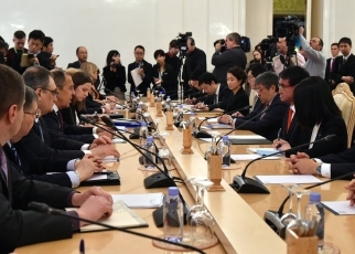 Japan-Russia Foreign Ministers' Meeting