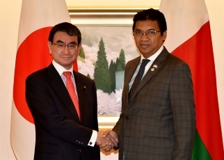 Japan-Madagascar Foreign Ministers' Meeting 1