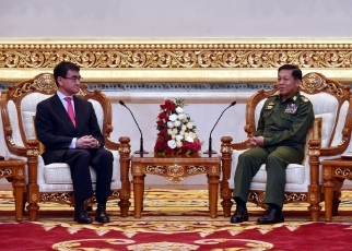 Foreign Minister Kono Visits Myanmar4