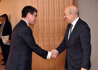 Seventh Japan-France Foreign Ministers' Strategic Dialogue 1