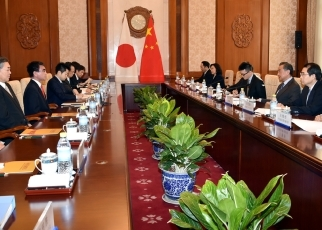Japan-China Foreign Ministers' Meeting3