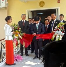 The ceremony of opening of Consular Office of Japan in Siem Reap