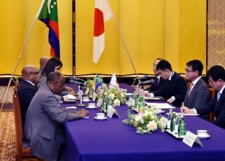 Japan-Comoros Foreign Ministers' Meeting 2