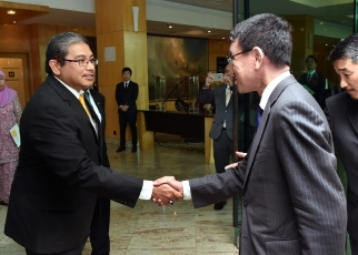 Japan-Brunei Foreign Ministers' Meeting 2