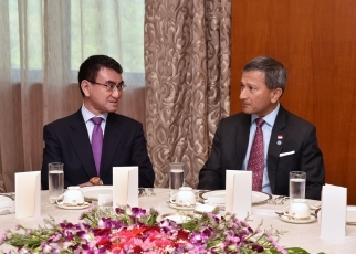 Japan-Singapore Foreign Ministers' Meeting 3