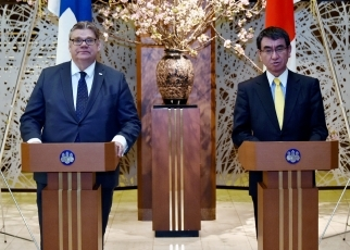 Japan-Finland Foreign Ministers' Meeting 1