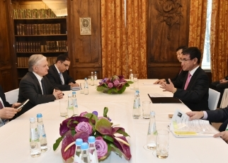 Japan-Armenia Foreign Ministers' Meeting (Conversation)