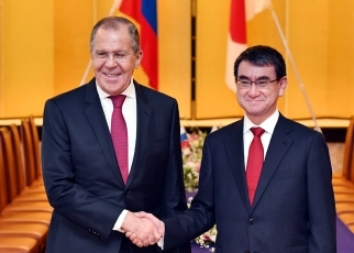 photo1: Japan-Russia Foreign Ministers' Meeting