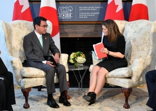 Japan-Canada Foreign Ministers' Meeting2