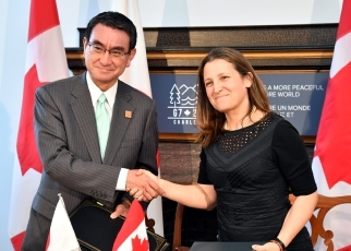 Japan-Canada Foreign Ministers' Meeting5