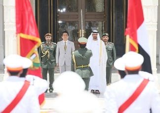 Prime Minister Abe Visits the United Arab Emirates1