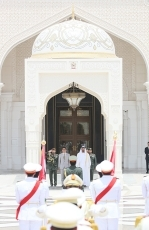 Prime Minister Abe Visits the United Arab Emirates2