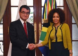 Japan-South Africa Foreign Ministers' Meeting1