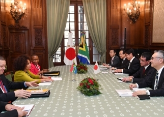 Japan-South Africa Foreign Ministers' Meeting2