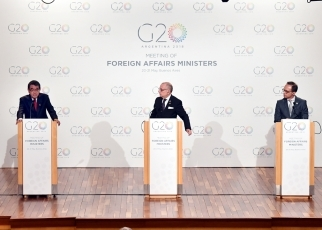 (Photo 2) G20 Buenos Aires Foreign Ministers' Meeting
