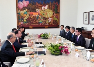Japan-Mexico Foreign Ministers' Meeting 2