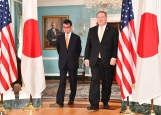 (Photo) Foreign Minister Kono Visits the United States of America
