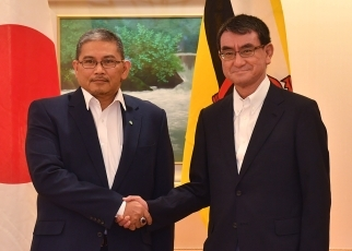 apan-Brunei Foreign Ministers' Meeting (luncheon) 1