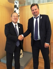 (Photo 1) The 7th Japan-Sweden Joint Committee on Science and Technology Cooperation