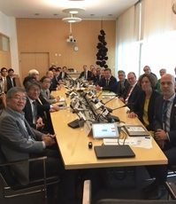 (Photo 2) The 7th Japan-Sweden Joint Committee on Science and Technology Cooperation