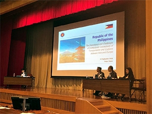 (Photo2) ASEM Seminar on Sustainable Connectivity and Quality Infrastructure