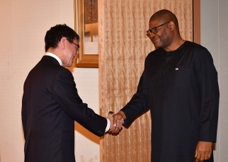 Japan-Liberia Foreign Ministers' Meeting 1