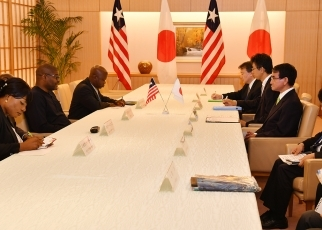 Japan-Liberia Foreign Ministers' Meeting 3