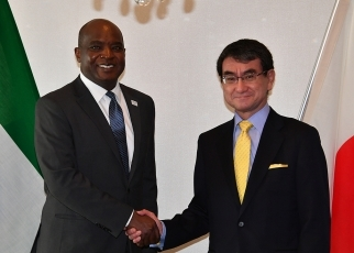 Japan-Sierra Leone Foreign Ministers' Meeting 2