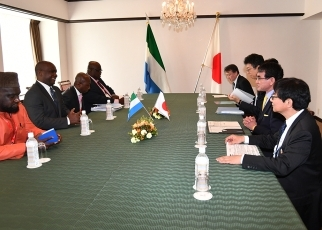 Japan-Sierra Leone Foreign Ministers' Meeting 3