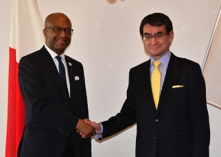 Japan-Madagascar Foreign Ministers' Meeting 2