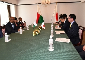 Japan-Madagascar Foreign Ministers' Meeting 3