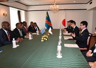 Japan-Democratic Republic of the Congo Foreign Ministers' Meeting 2