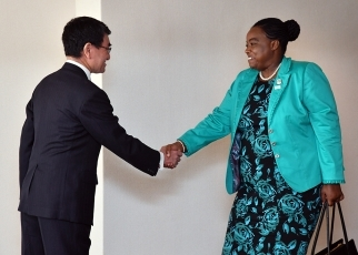 Japan-Kenya Foreign Ministers' Meeting 1