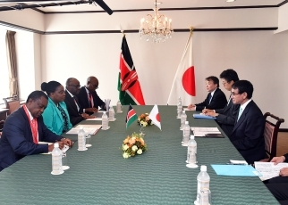 Japan-Kenya Foreign Ministers' Meeting 3
