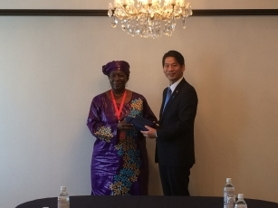 Meeting between Parliamentary Vice-Minister Yamada and the Vice President of the Economic Community of West African States (ECOWAS) Commission 2