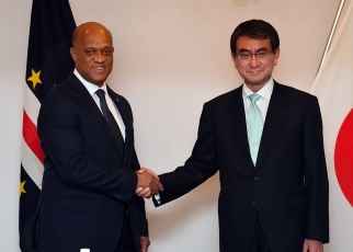 Japan-Cabo Verde Foreign Ministers' Meeting 2