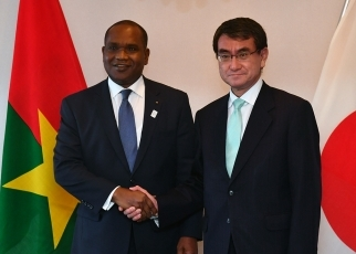 Japan-Burkina Faso Foreign Ministers' Meeting 1