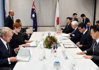 Japan-Australia Foreign Ministers' Meeting2