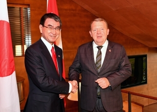 Foreign Minister Kono pays a courtesy call on Prime Minister of the Kingdom of Denmark