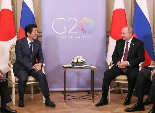 (Photo2) Japan-Russia Summit Meeting 2