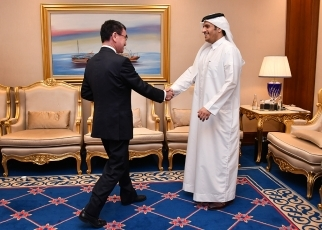 Japan-Qatar Foreign Ministers' Meeting