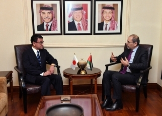 First Japan-Jordan Foreign Ministers' Strategic Dialogue2