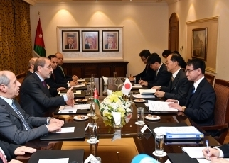 First Japan-Jordan Foreign Ministers' Strategic Dialogue3
